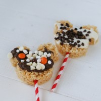 Birthday Mickey Mouse Rice Krispies Treats