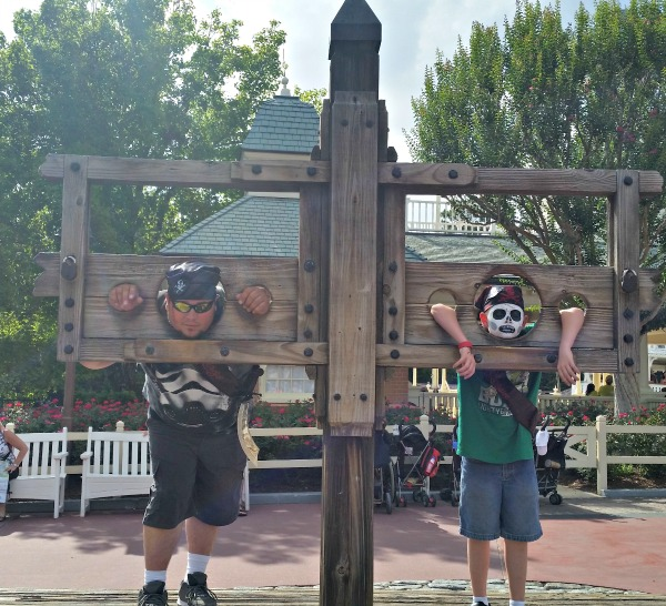 Being a Pirate at Adventureland in the Magic Kingdom