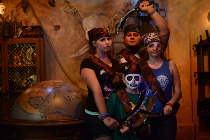 Pirate's League @ Disney World