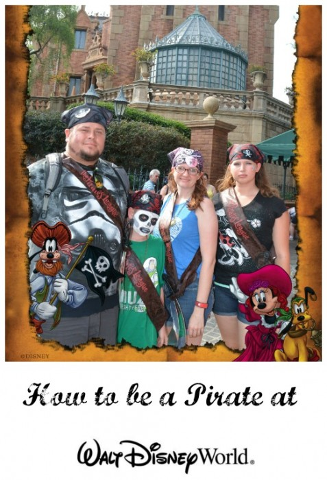 How to Be a Pirate at Disney World