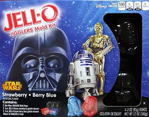 Star Wars Jello Mold