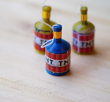Printable TNT for Minecraft Party