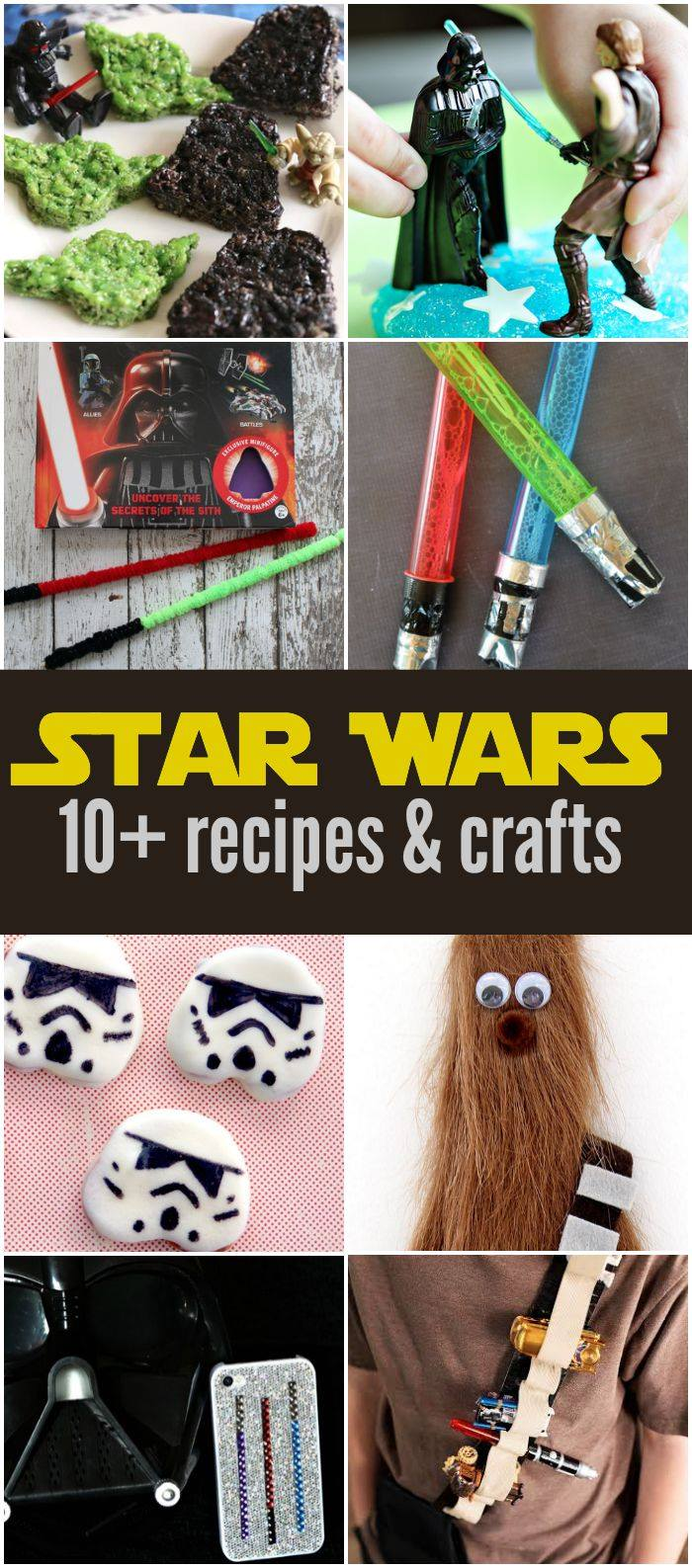 Star Wars Crafts and Recipes
