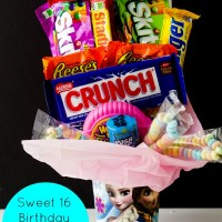 DIY: Sweet 16 Candy Bouquet