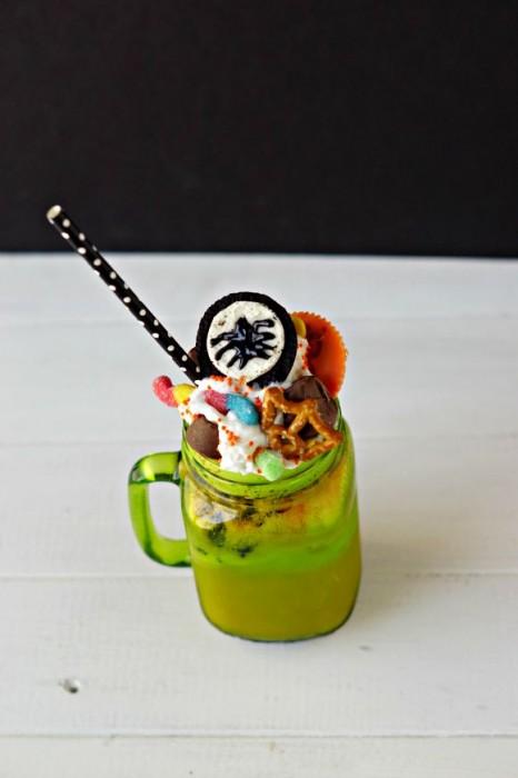 Halloween Franken-Shake