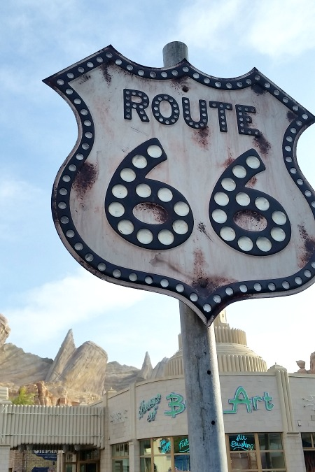 Cars Land in Disneyland California Adventure