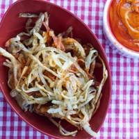 Fried Potato Strings Recipe
