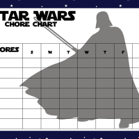 Printable Star Wars Chore Charts