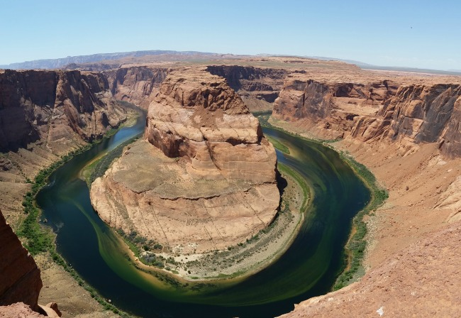 Horseshoe Bend in northern, AZ