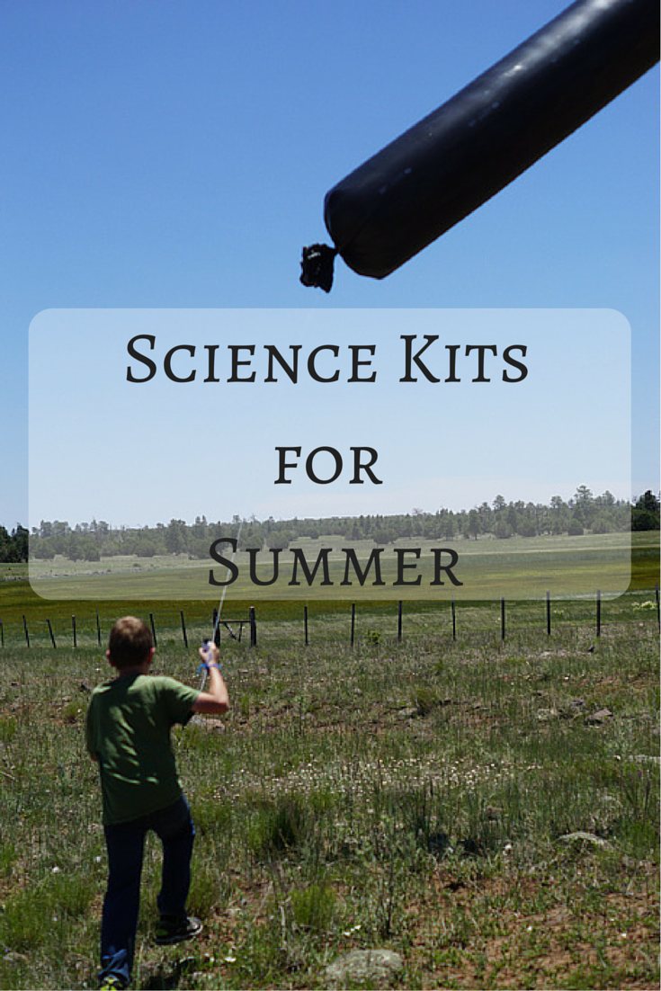 Science Kits for the Summer!