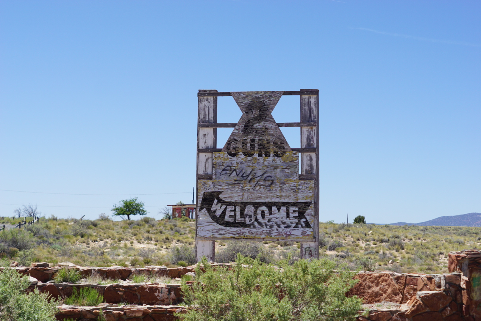 2 Guns Ghost Town in Northern Arizona