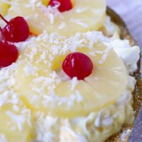Easy No Bake Tropical Pie Recipe