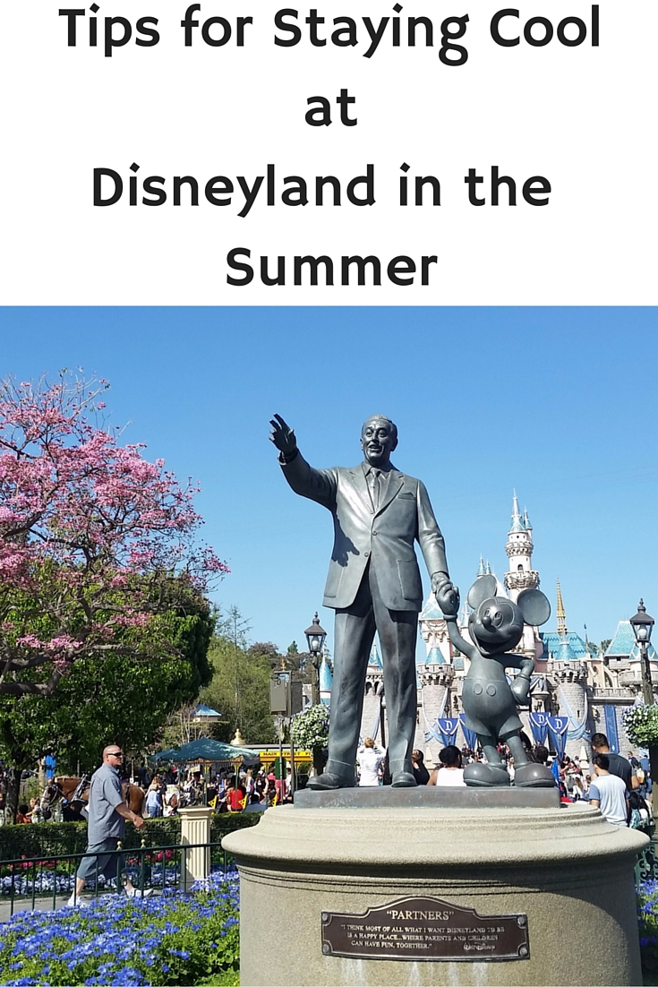 Tips for Staying Cool at Disneyland