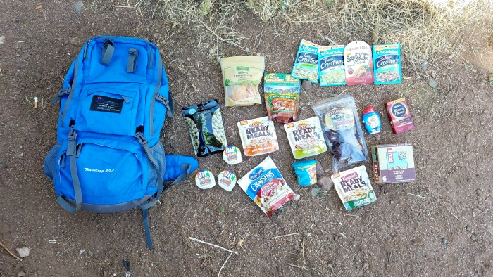 Hiking and Backpacking Food