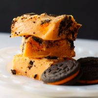 Halloween Oreo Fudge