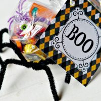 Halloween Candy Spider Craft