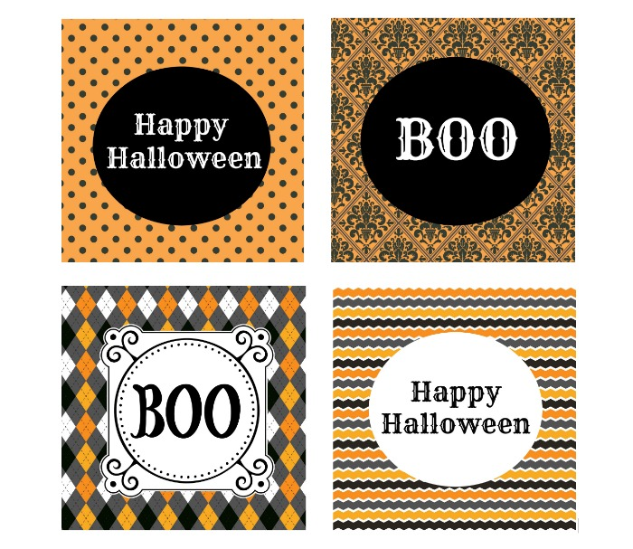 Free Halloween Printable Cards