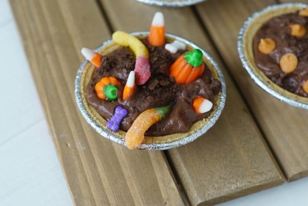 Halloween No Bake Pies