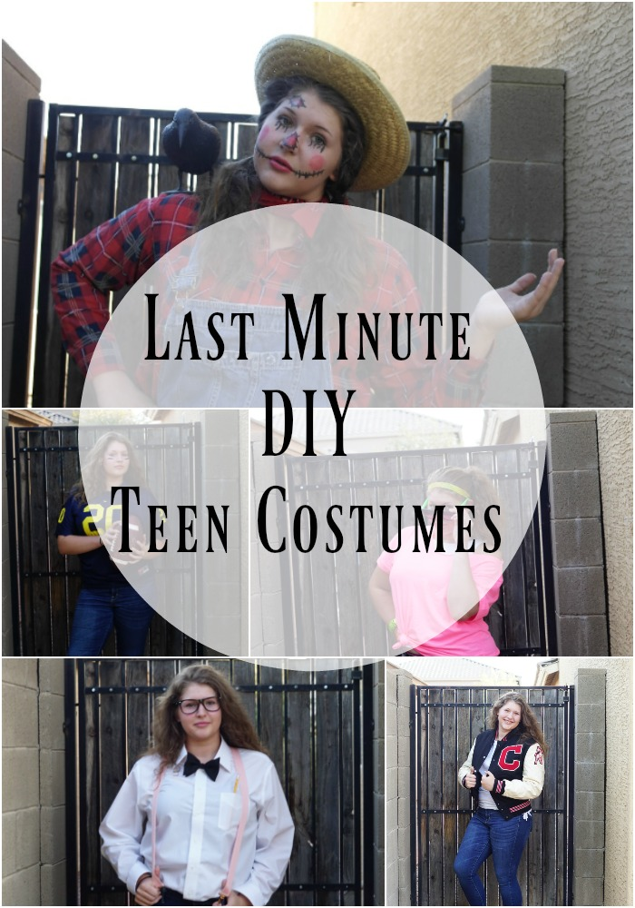 DIY Last Minute Teen Costumes for Halloween