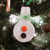 Cricut Felt Ornaments