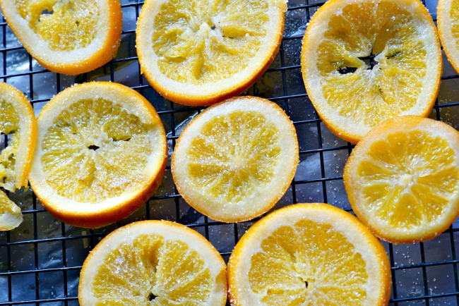 Sugared Oranges