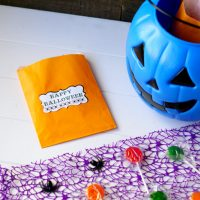 Easy Halloween Treat Bags with Cricut Maker