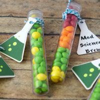 Mad Science Candy Test Tubes