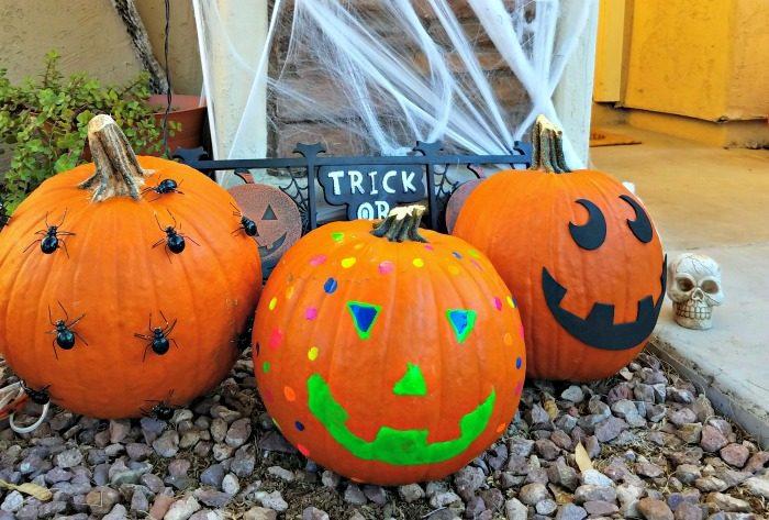 No Carve Pumpkin Decorating Ideas Clever Pink Pirate