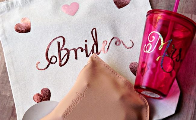 DIY Bride Bag and Wedding Day Essentials Kit