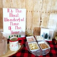 Vintage & Rustic Hot Cocoa Bar